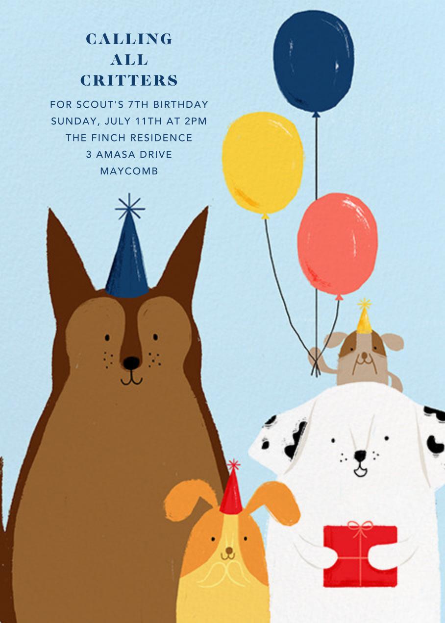 Kennel Club - Paperless Post - Kids' birthday