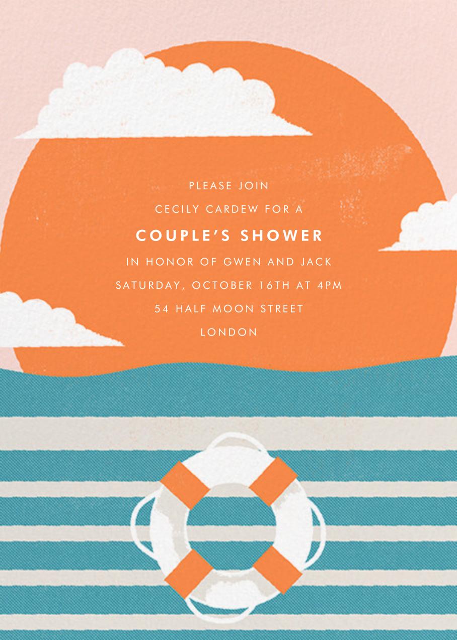Sailor's Delight - Paperless Post - Baby shower