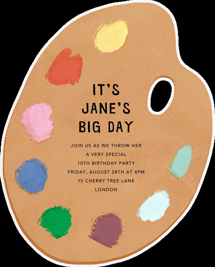 Palette Pleaser - Paperless Post - Kids' birthday