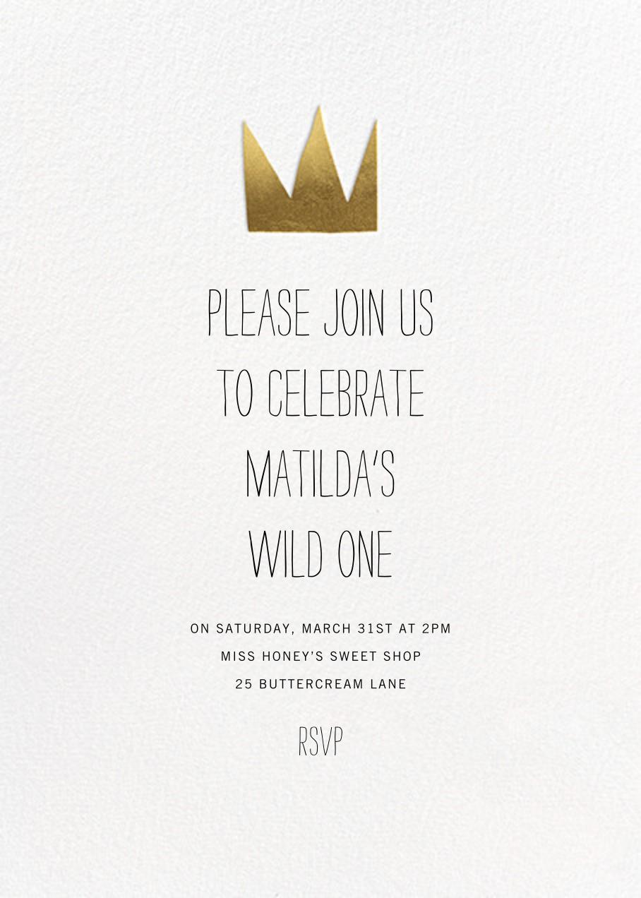 Wild Things - Paperless Post - Kids' birthday
