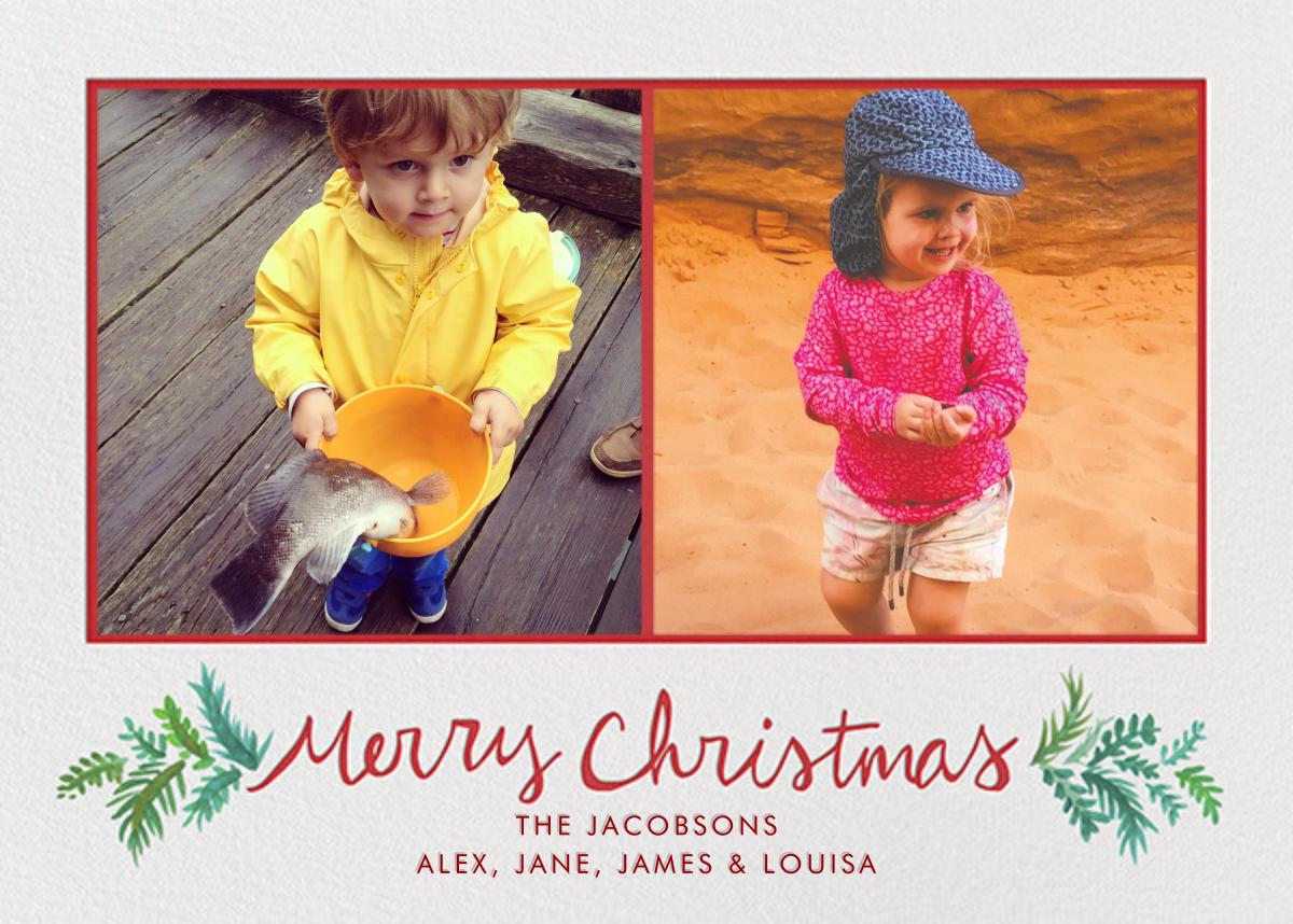 Merry Christmas Sprigs - Linda and Harriett - Christmas