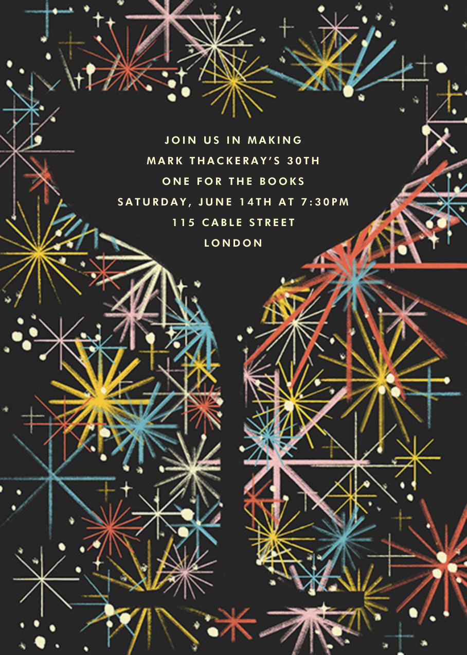 It's Full of Stars! - Paperless Post - Milestone