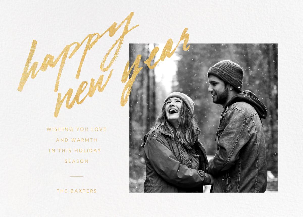 Freehand Filigree - New Year - Paperless Post - New Year