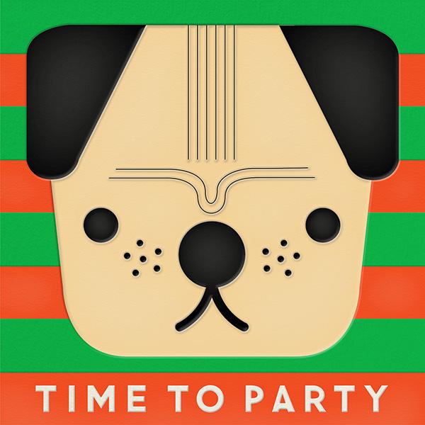 Pug (Invitation) - The Indigo Bunting - null