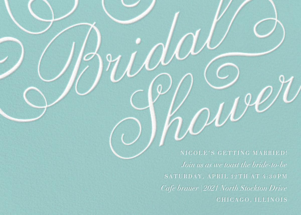 Script Bridal Shower - Paper Source - Bridal shower