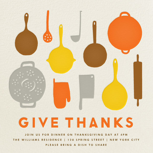Pantry - Give Thanks - The Indigo Bunting - Thanksgiving