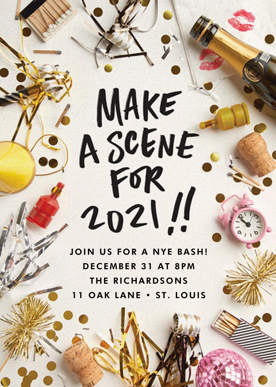 2021 Scene - Cheree Berry - New Year's Eve