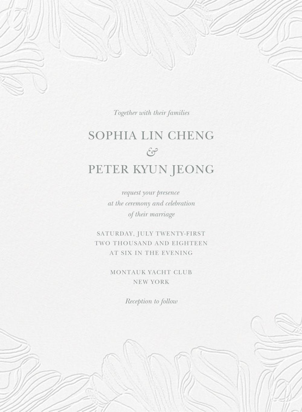Ruffle - Pewter Gray - Vera Wang