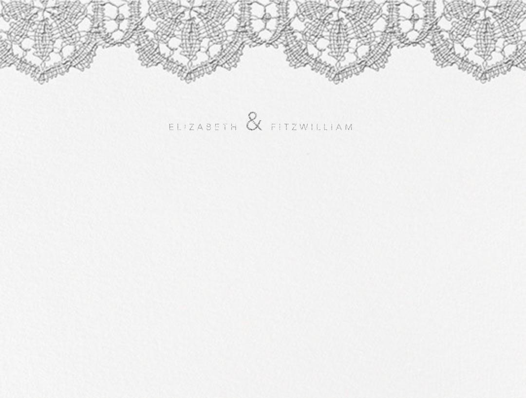 Antique Lace (Thank You) - Platinum - Oscar de la Renta