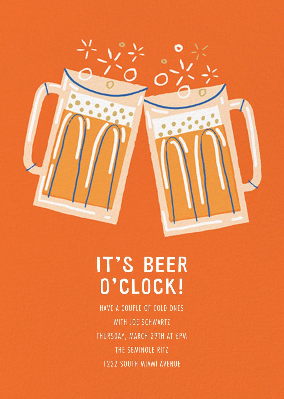 Beer Me - Paperless Post - Happy hour