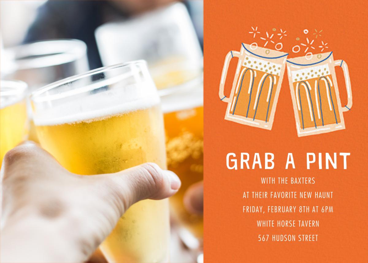 Beer Me Photo - Paperless Post