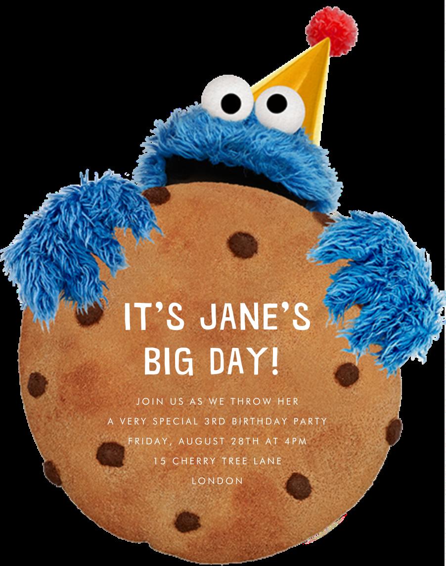 Monster-Size Cookie - Sesame Street - Kids' birthday