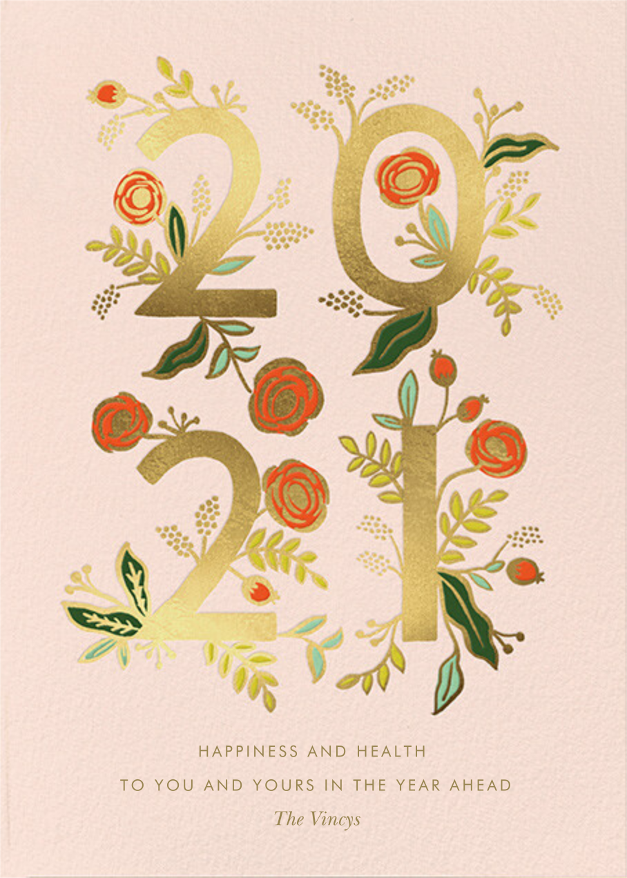Poppy New Year - Rifle Paper Co. - New Year