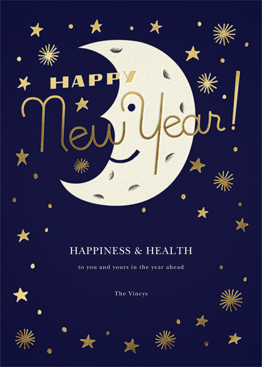 New Moon - Paperless Post - New Year