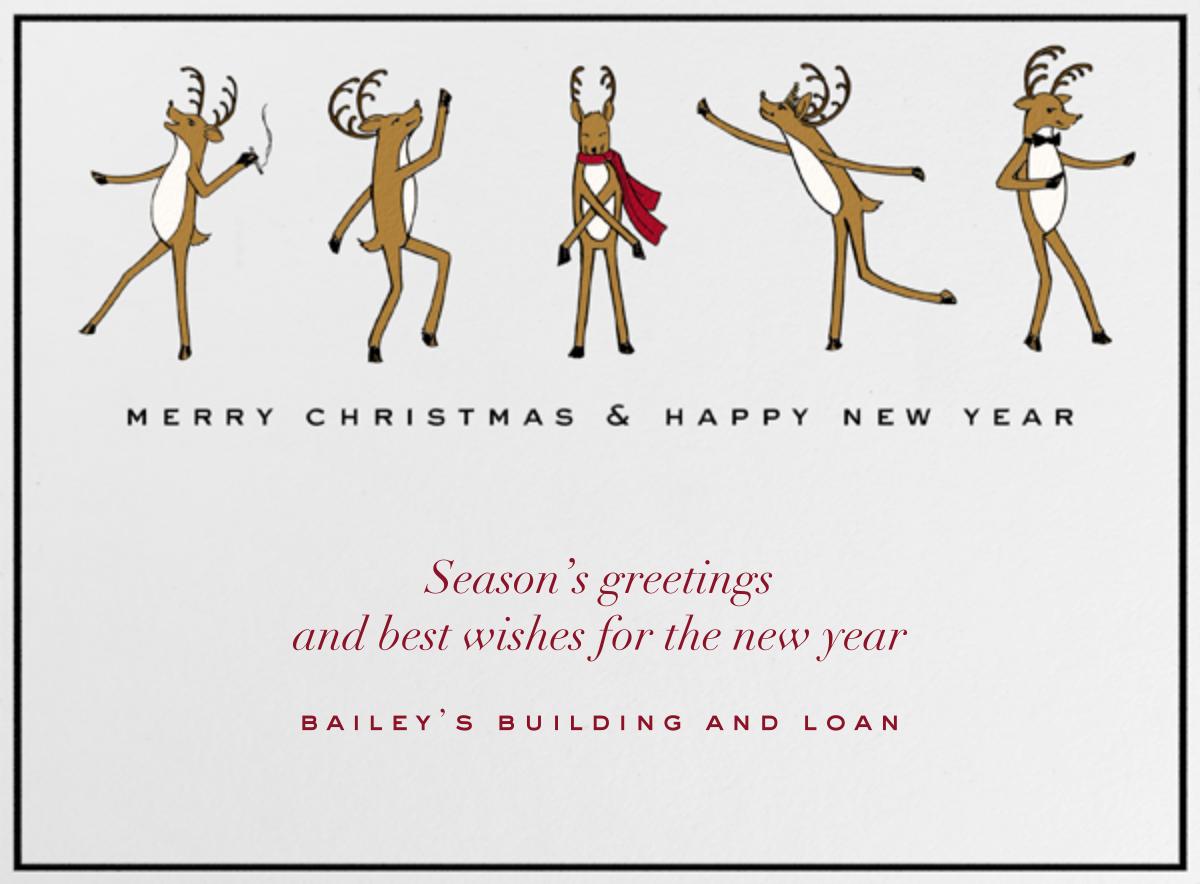 Reindeer Gala - Paperless Post - Christmas