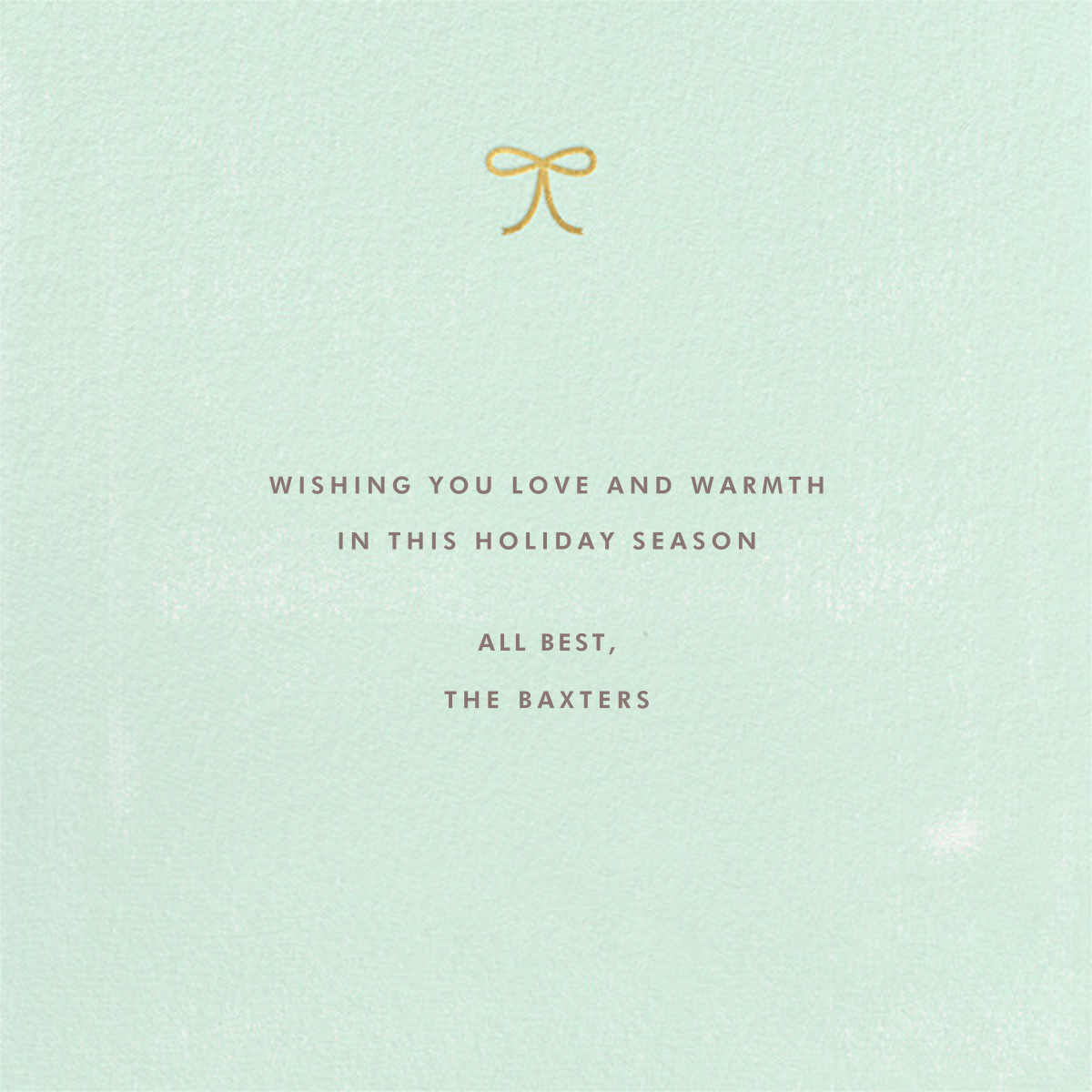 Hearth to Hearth - Paperless Post - Holiday cards - card back