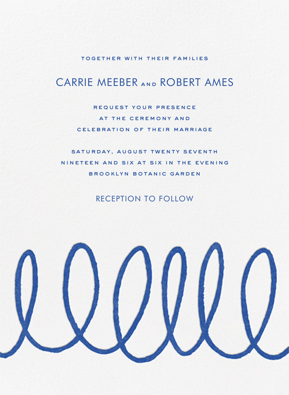 Charlotte Street I (Invitation) - kate spade new york - All