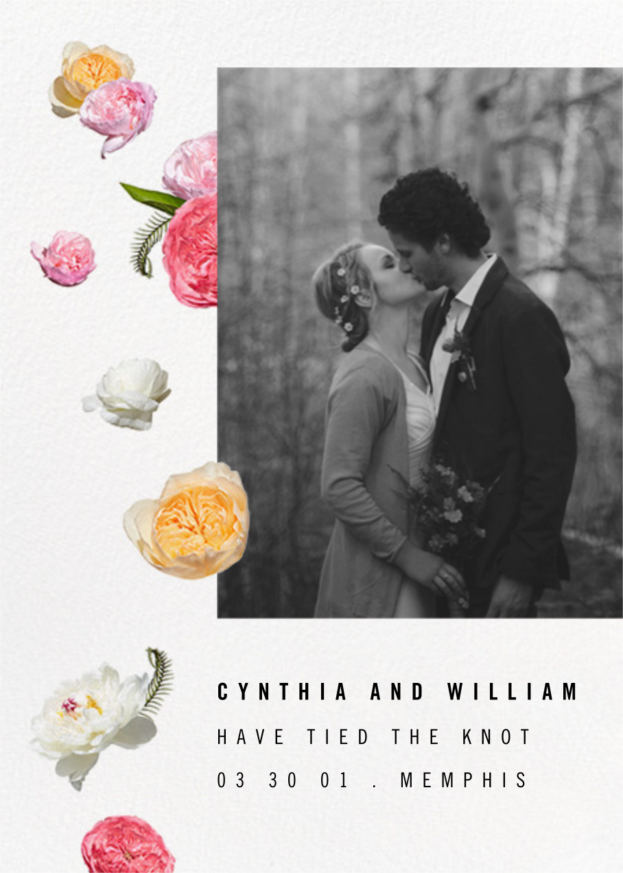 Brunswick (Photo Announcement) - Paperless Post - Wedding