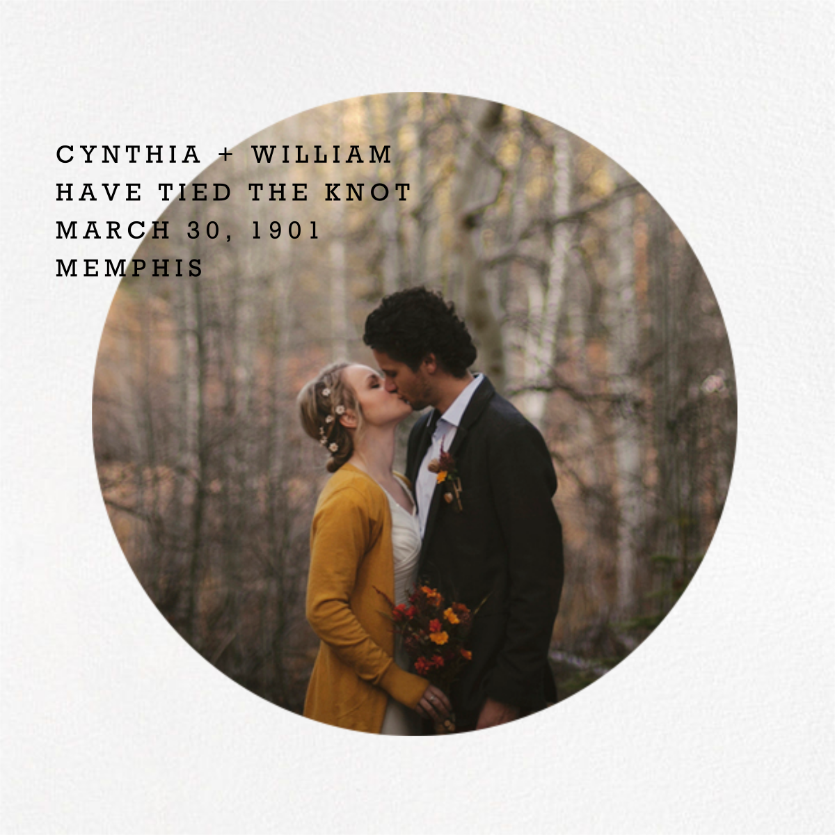 Vignette - Paperless Post - Wedding
