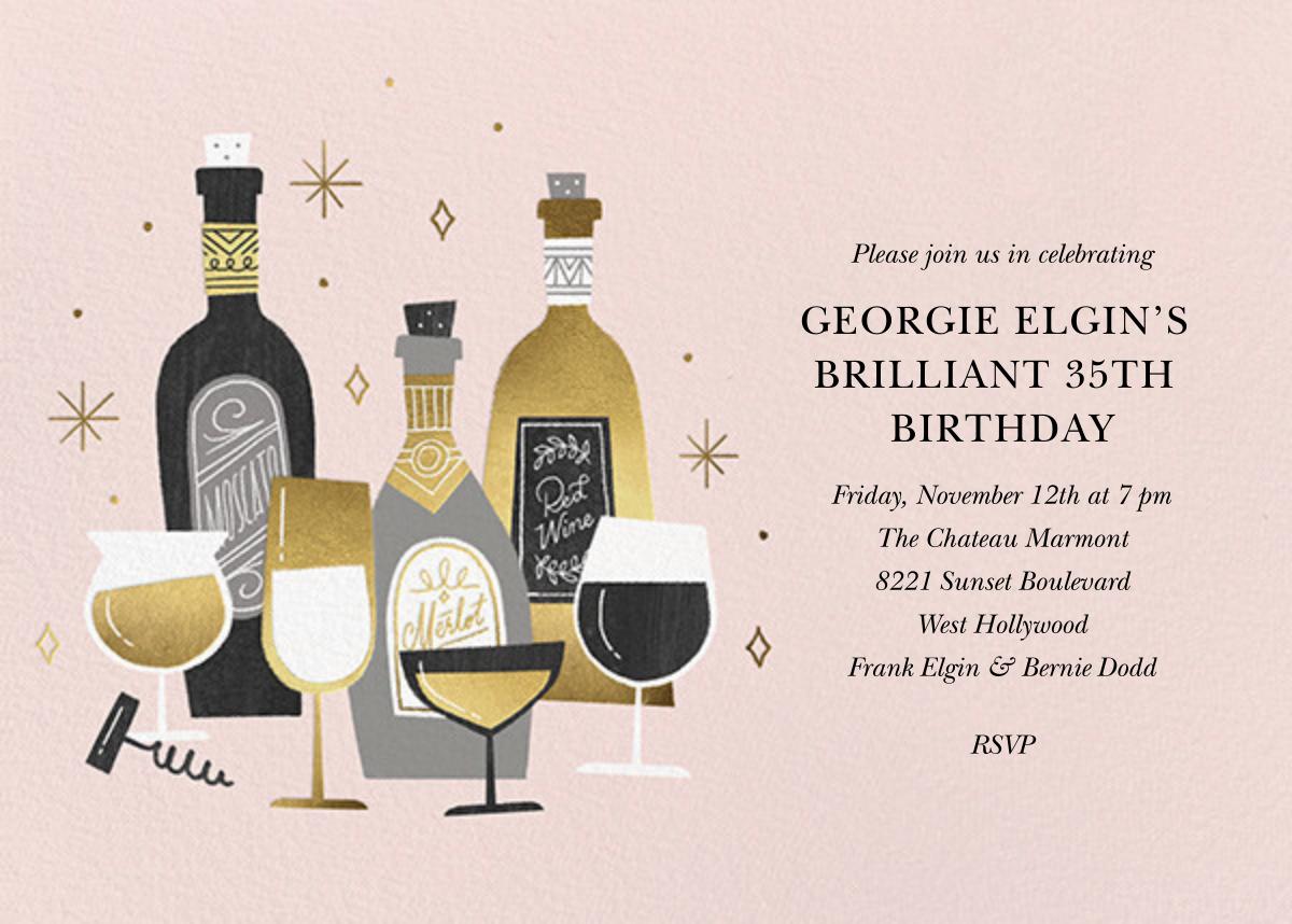 Wine Tour - Paperless Post - Adult birthday
