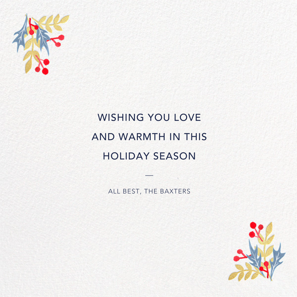Holiday Cycle - Paperless Post - Christmas - card back
