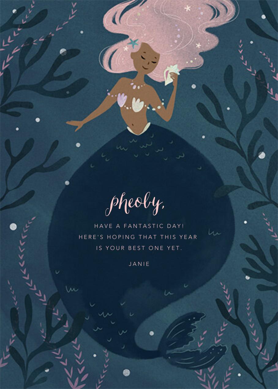 Mermaid Hideaway - Tan - Paperless Post
