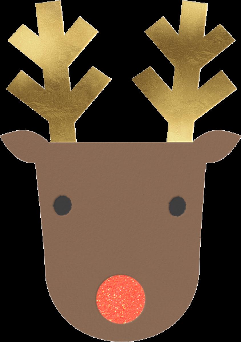Golden Antlers - Meri Meri - Christmas party