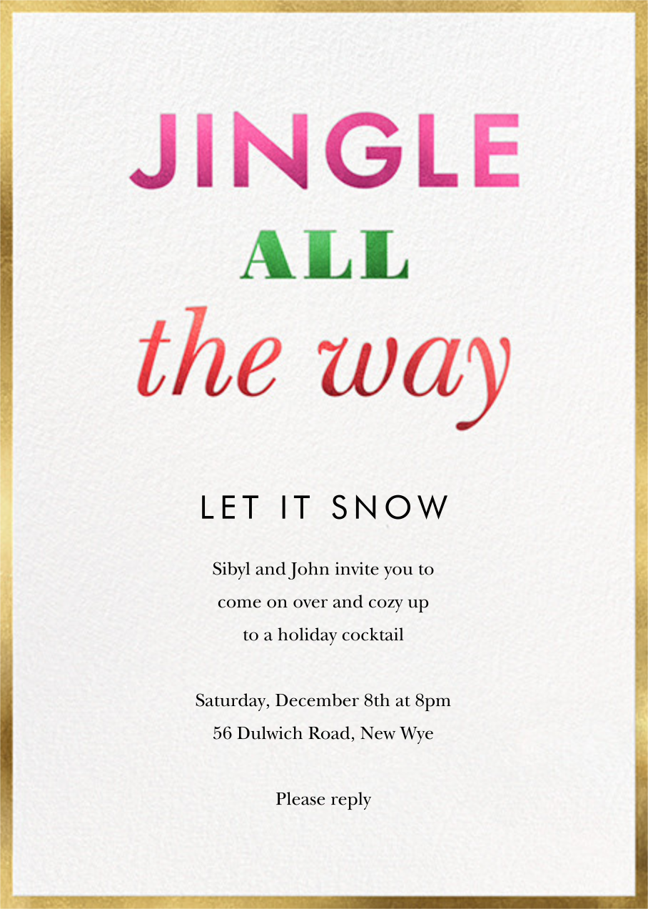 Jingle and Glow - kate spade new york - Christmas party