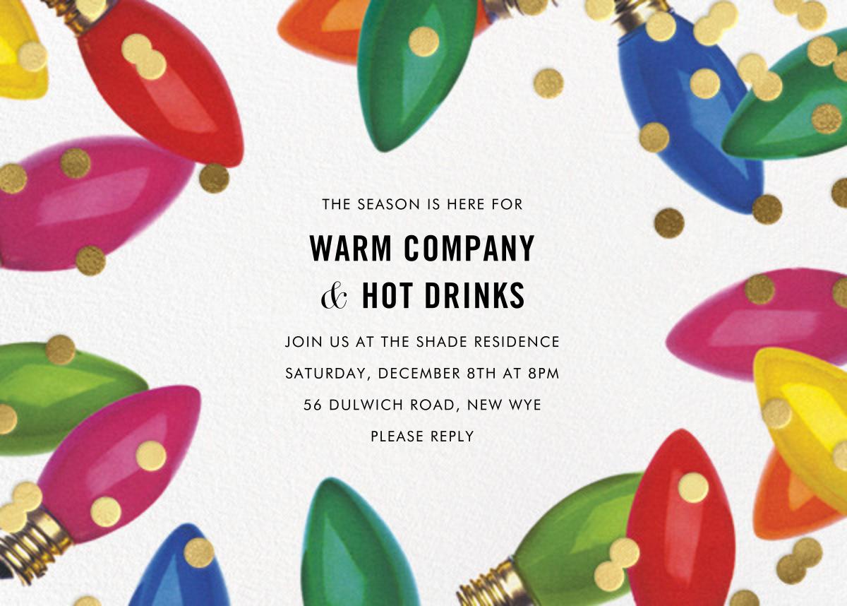 Confetti Bulbs - kate spade new york - Christmas party