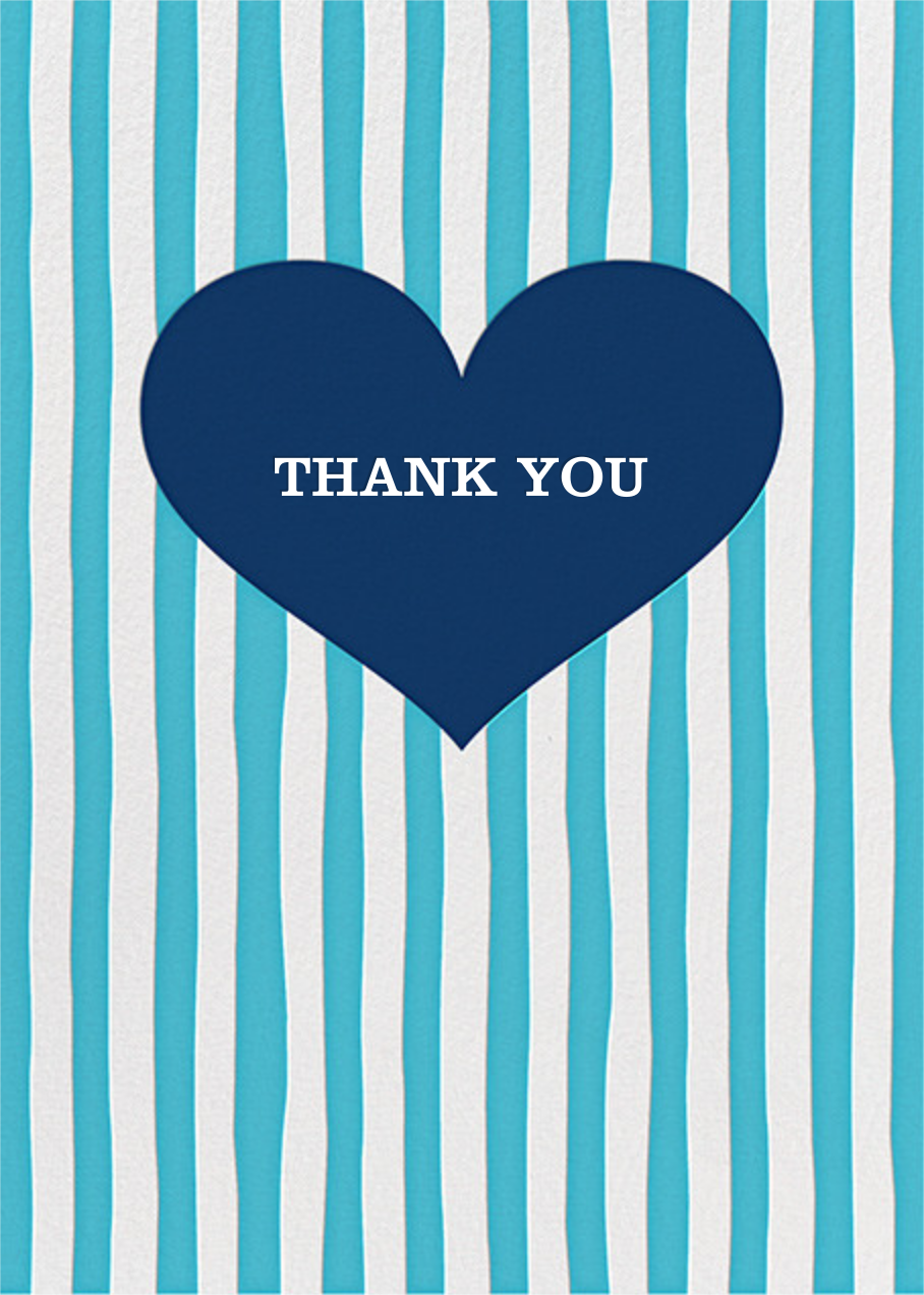 Glory of Love - Blue - Jonathan Adler - Thank you