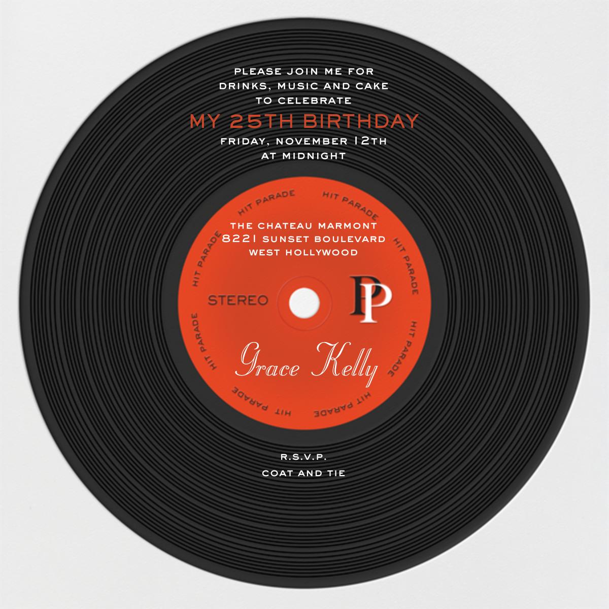 Diva Album - Black - Paperless Post - Back