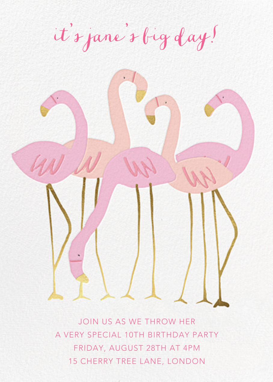 Let's Flamingle - Meri Meri - Kids' birthday