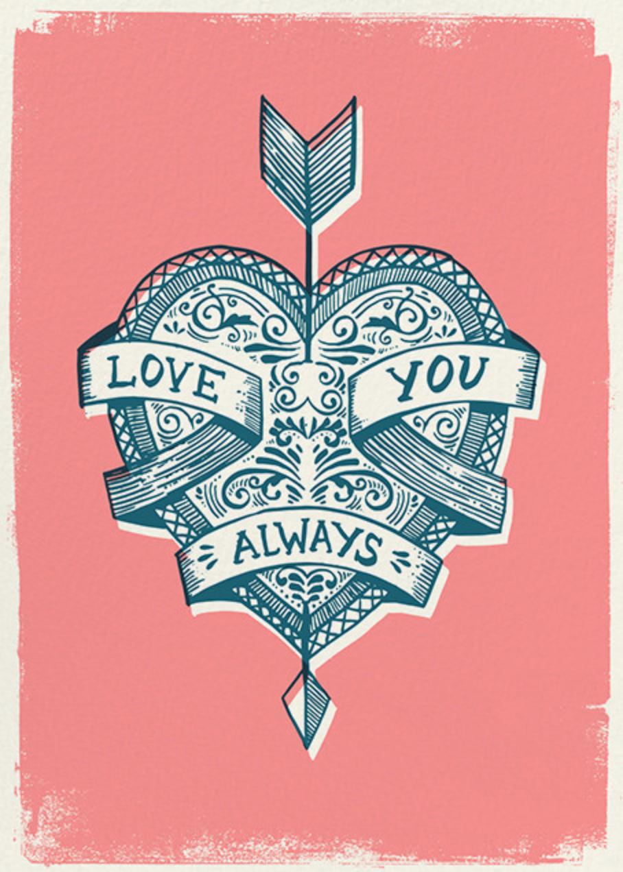Cupid's Arrow - Hello!Lucky - Love cards