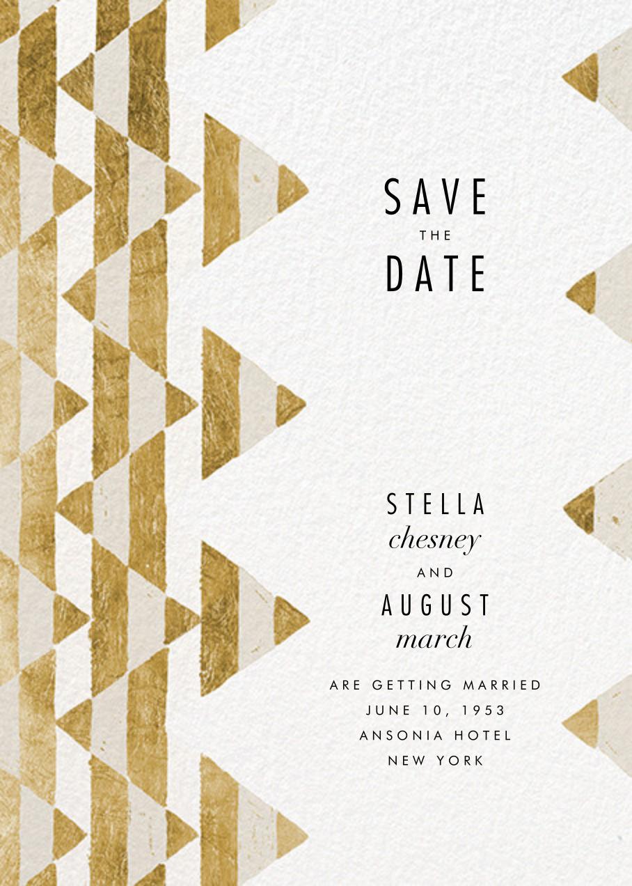 Tilt - Gold - Kelly Wearstler - Save the date