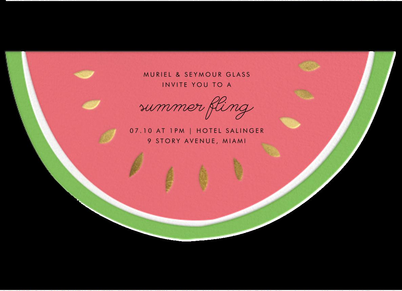 Little Miss Melon - Meri Meri - Summer parties