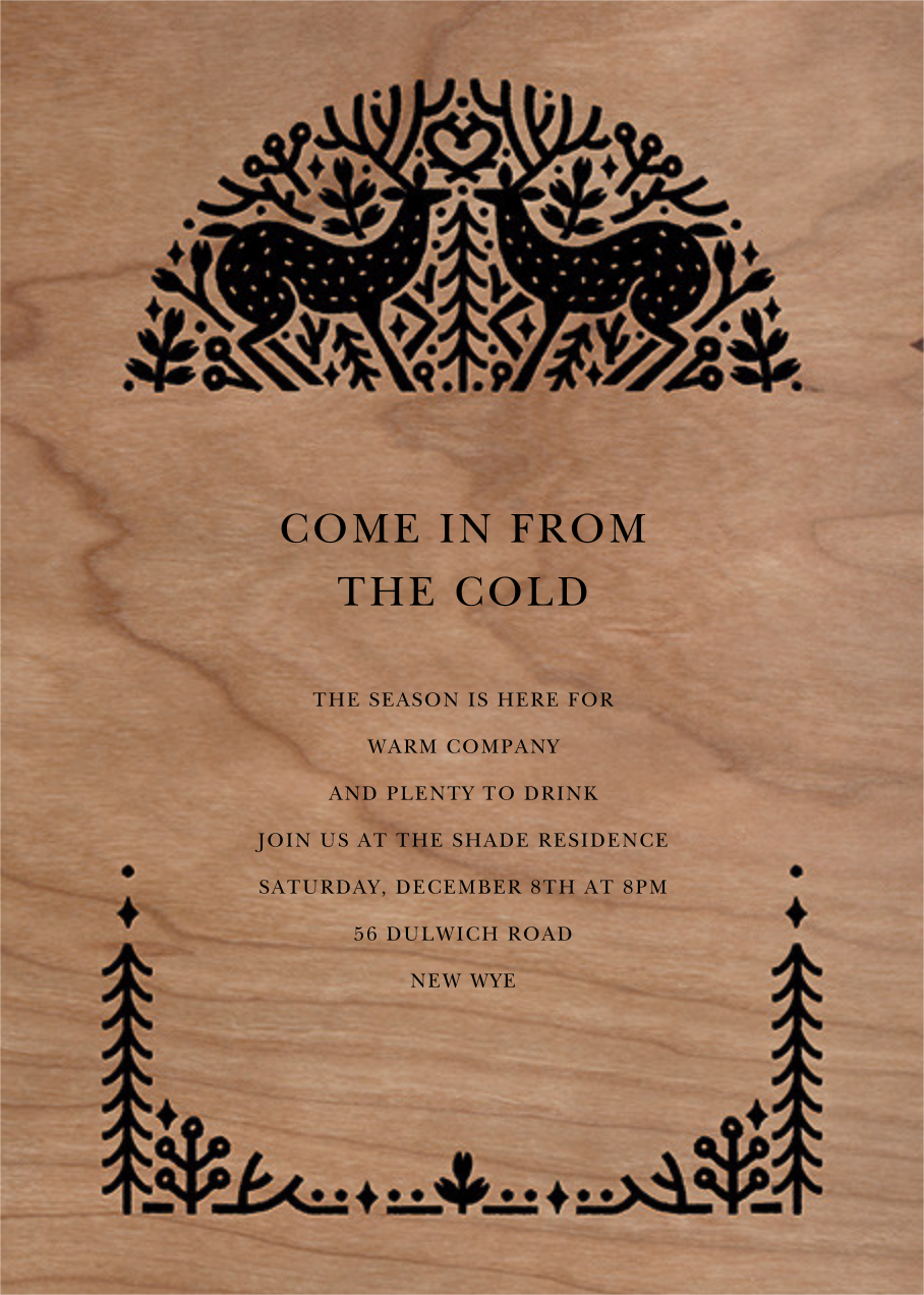 Sundance - Paperless Post - Winter parties