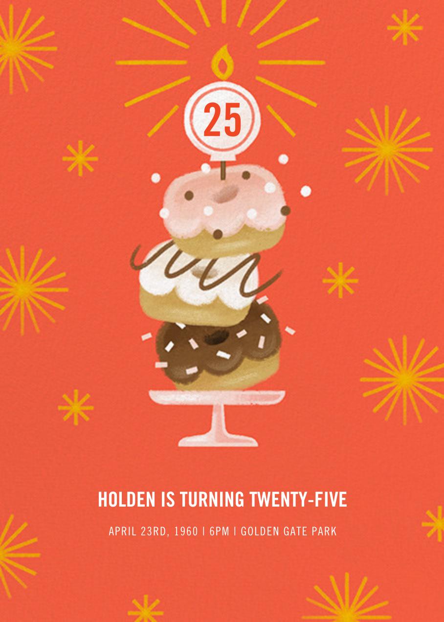 Three Rings - Paperless Post - Adult birthday