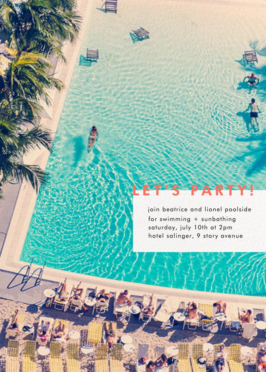 Swimming Pool - Gray Malin - Casual entertaining