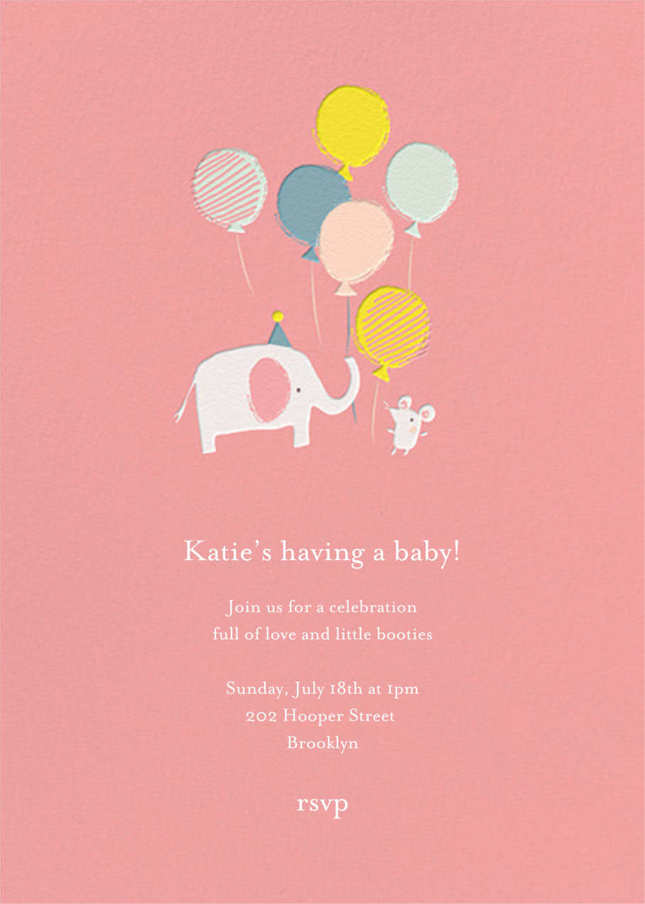 Ellie's Party - Blossom - Little Cube - Baby shower
