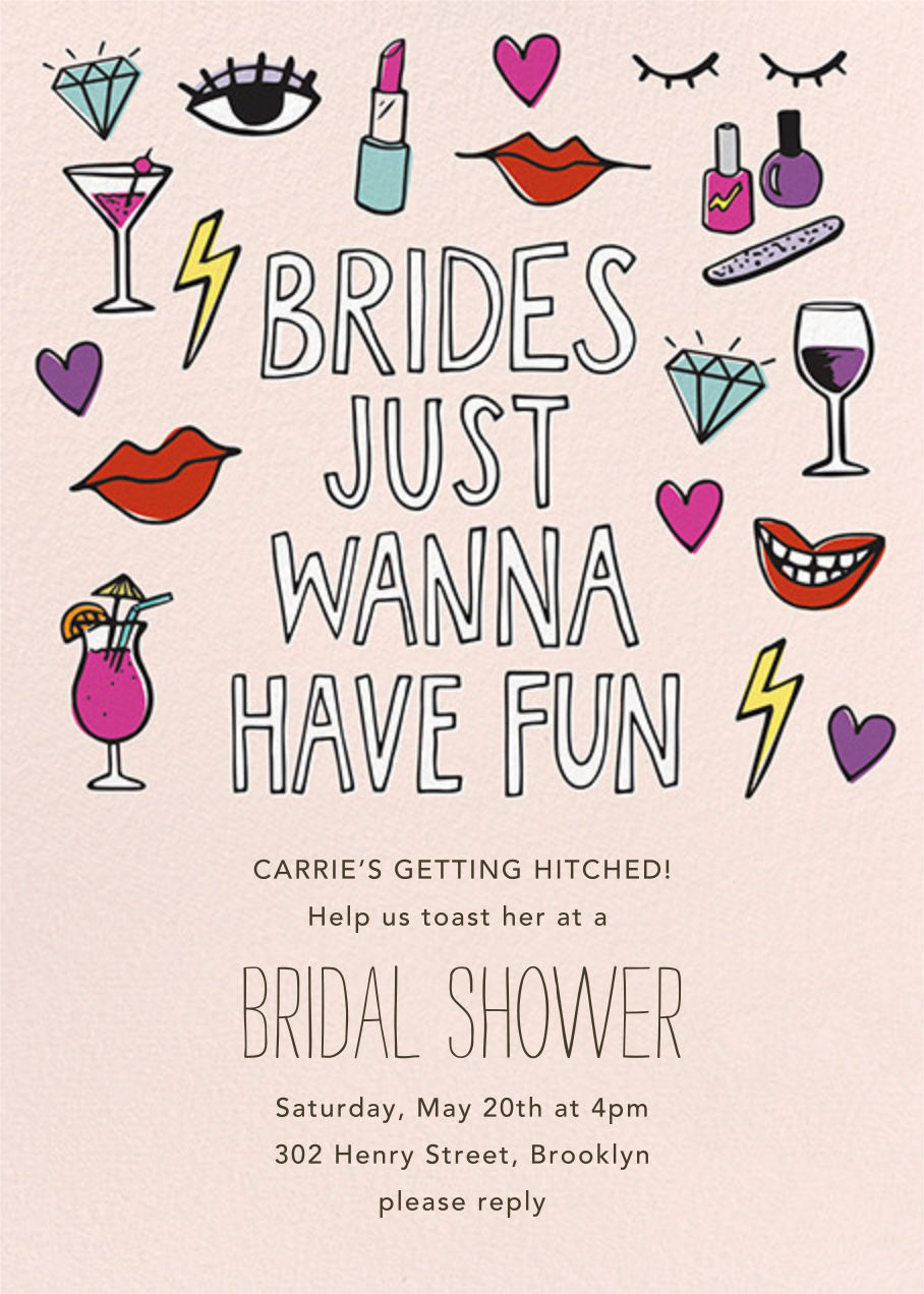 Brides Wanna - Paper Source - Bridal shower
