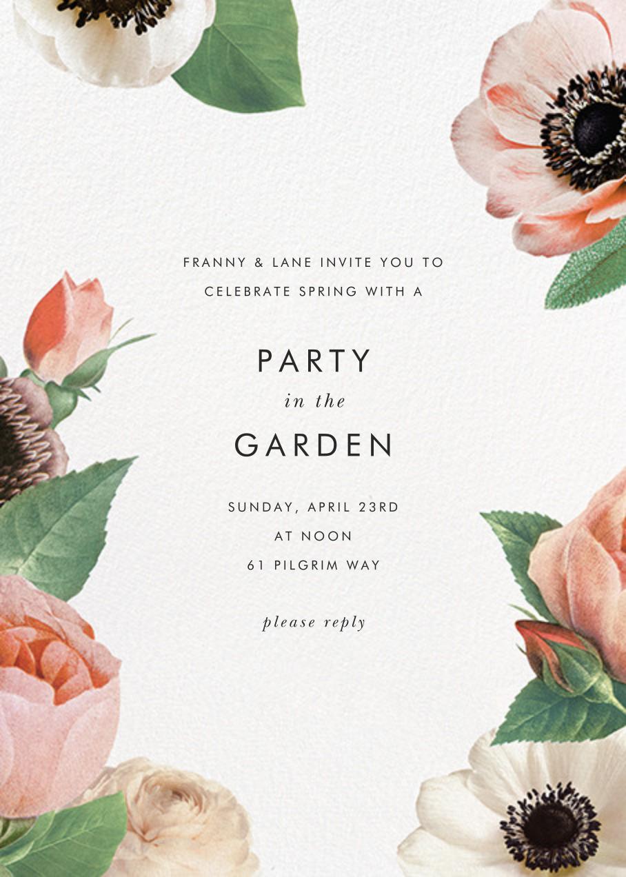 Floral Collage - kate spade new york - Spring entertaining