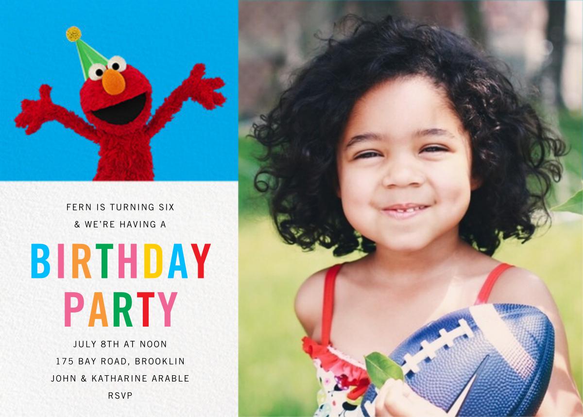 Elmo's Tickled Photo - Sesame Street - Kids' birthday