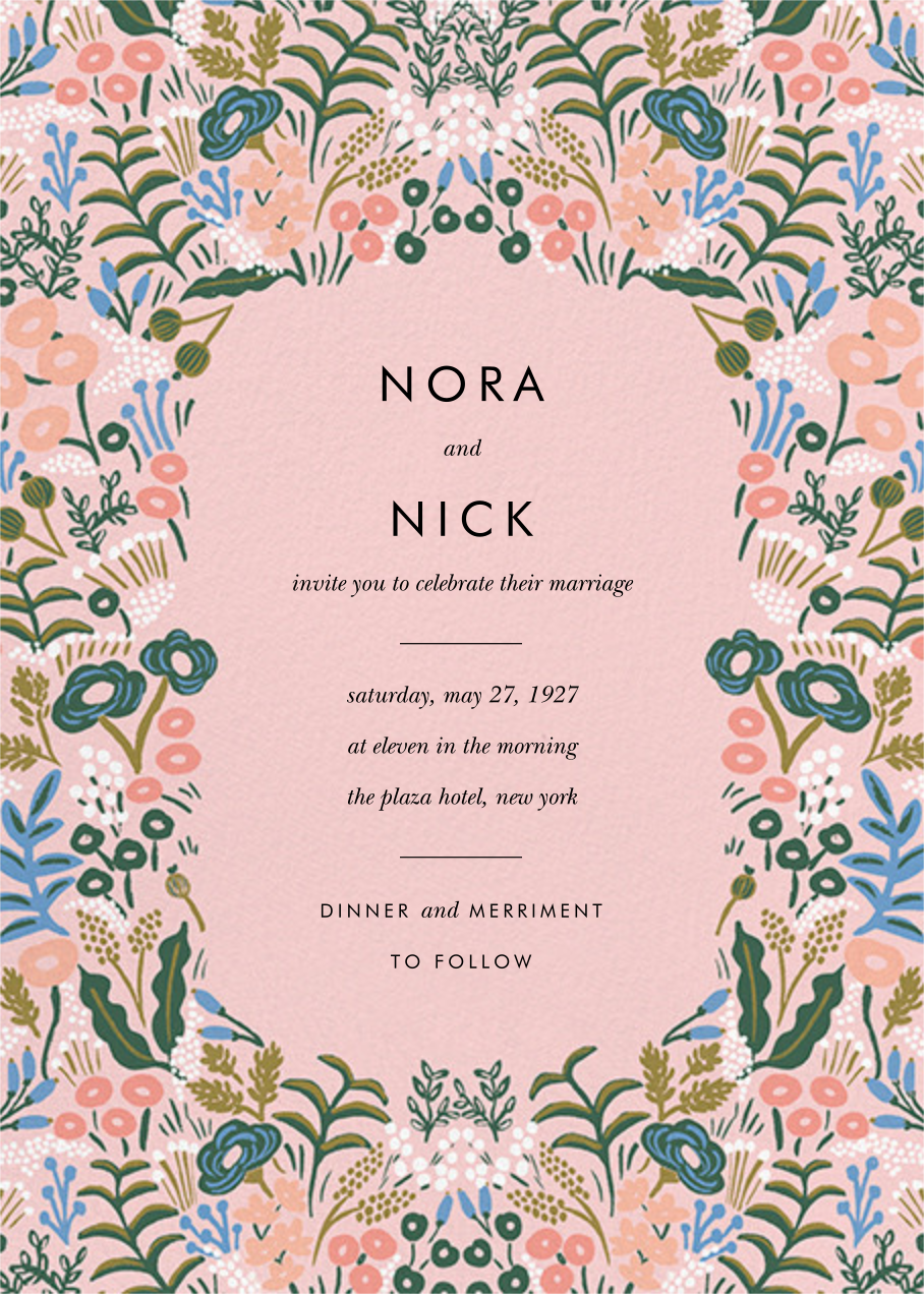 Floral Tapestry (Invitation) - Pavlova - Rifle Paper Co. - All