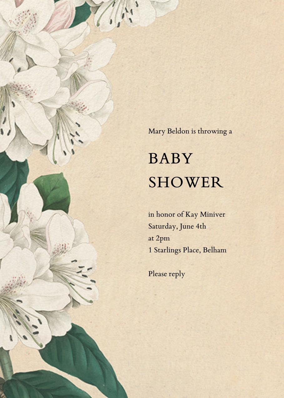 Campanulata - John Derian - Baby shower
