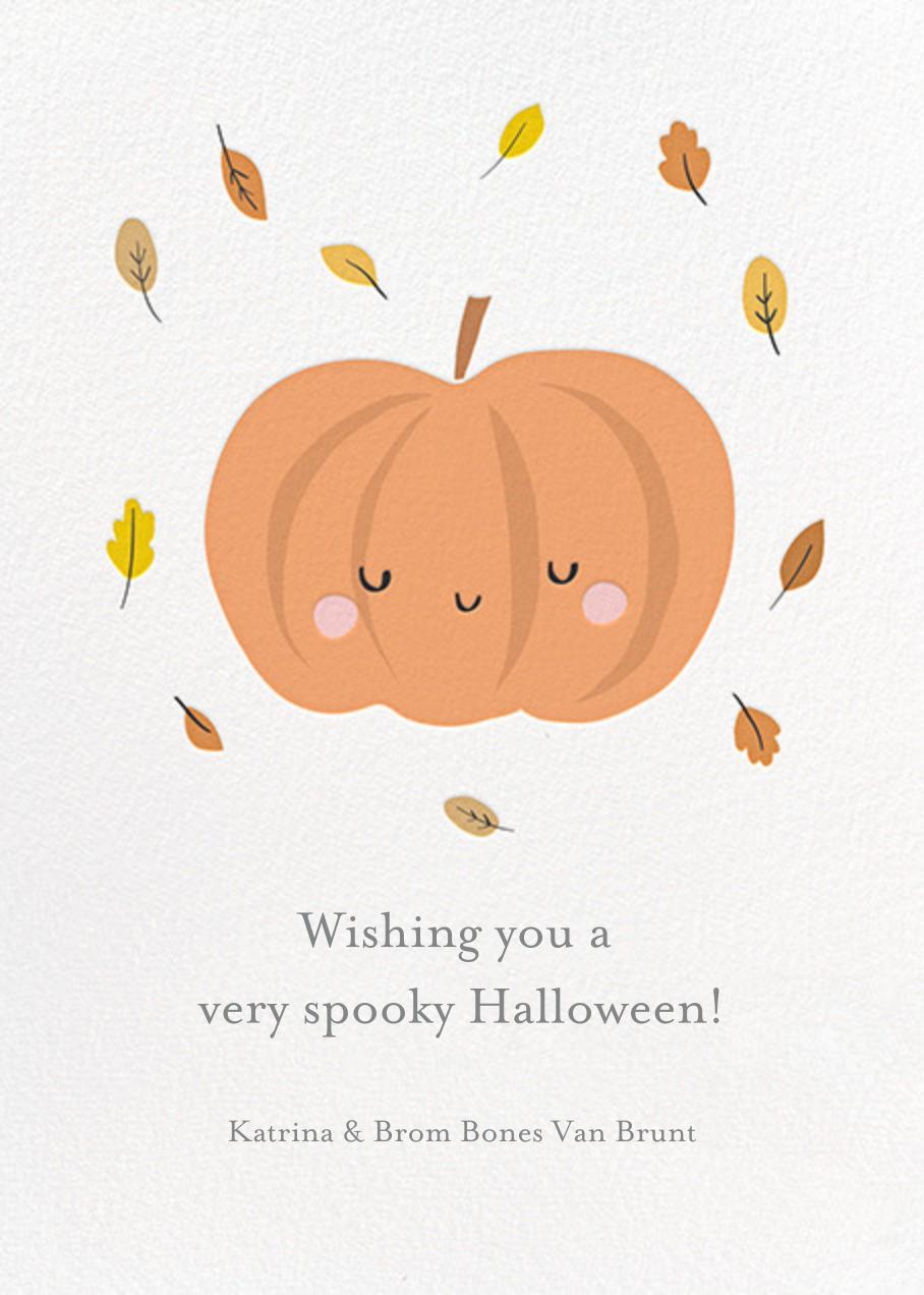 Little Pumpkin - Little Cube - Halloween