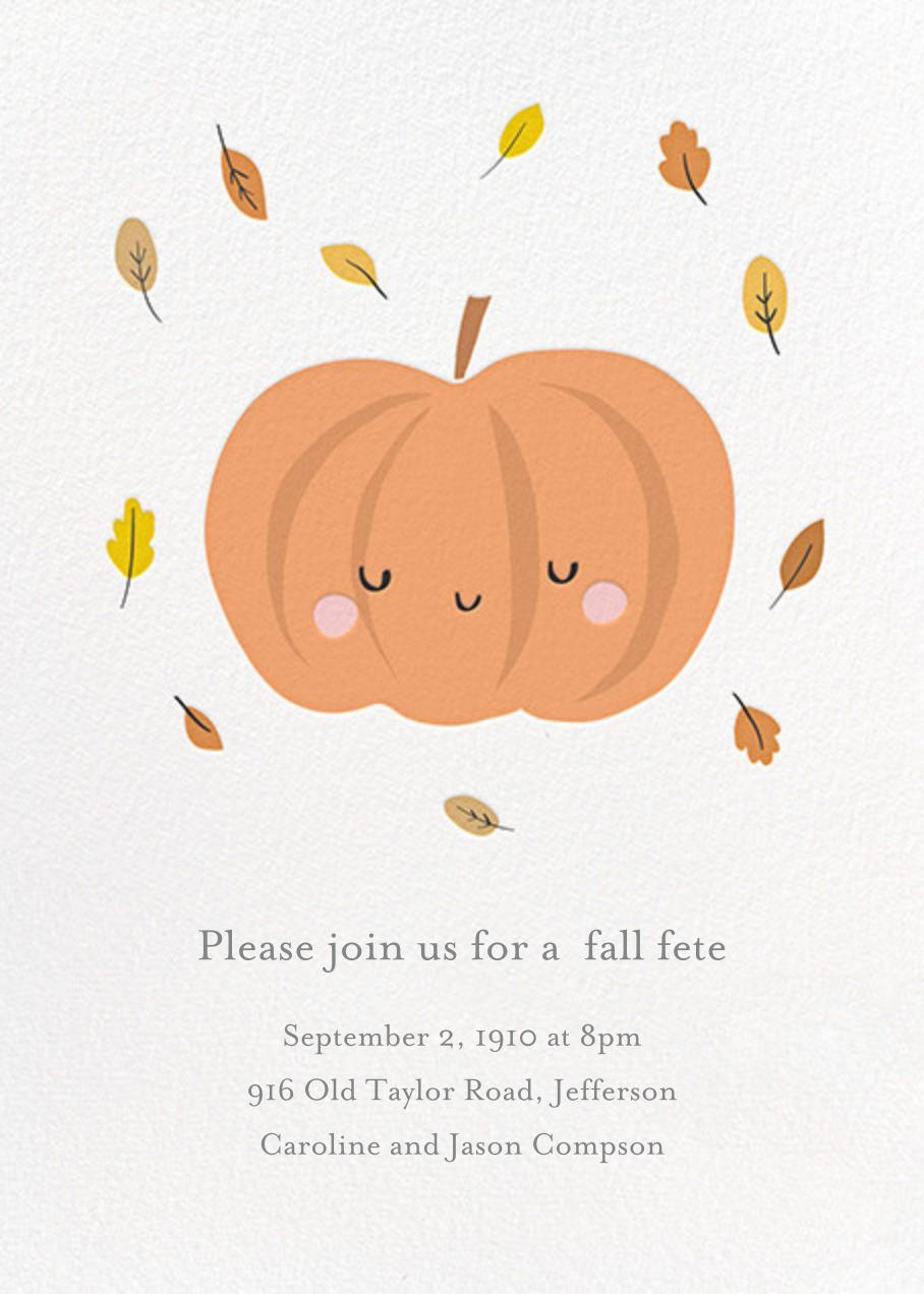 Little Pumpkin - Little Cube - Autumn entertaining