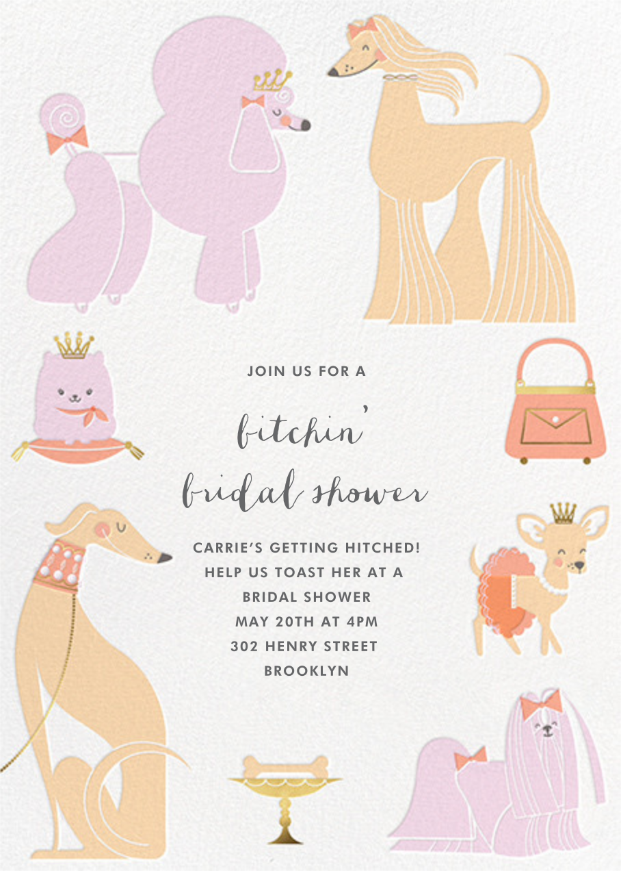 Chiens Chic - Hello!Lucky - Bridal shower