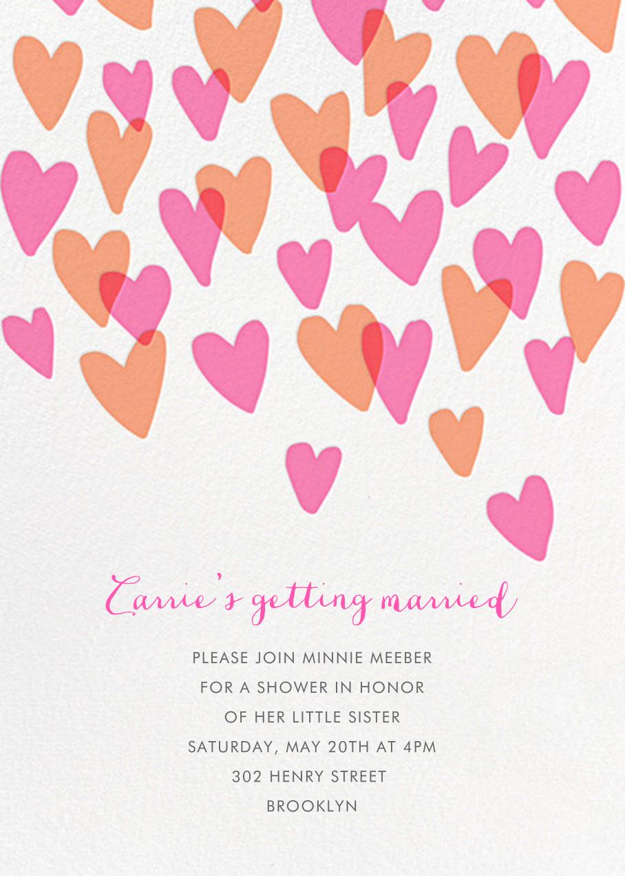 Hearts a Flutter - Hello!Lucky - Bridal shower