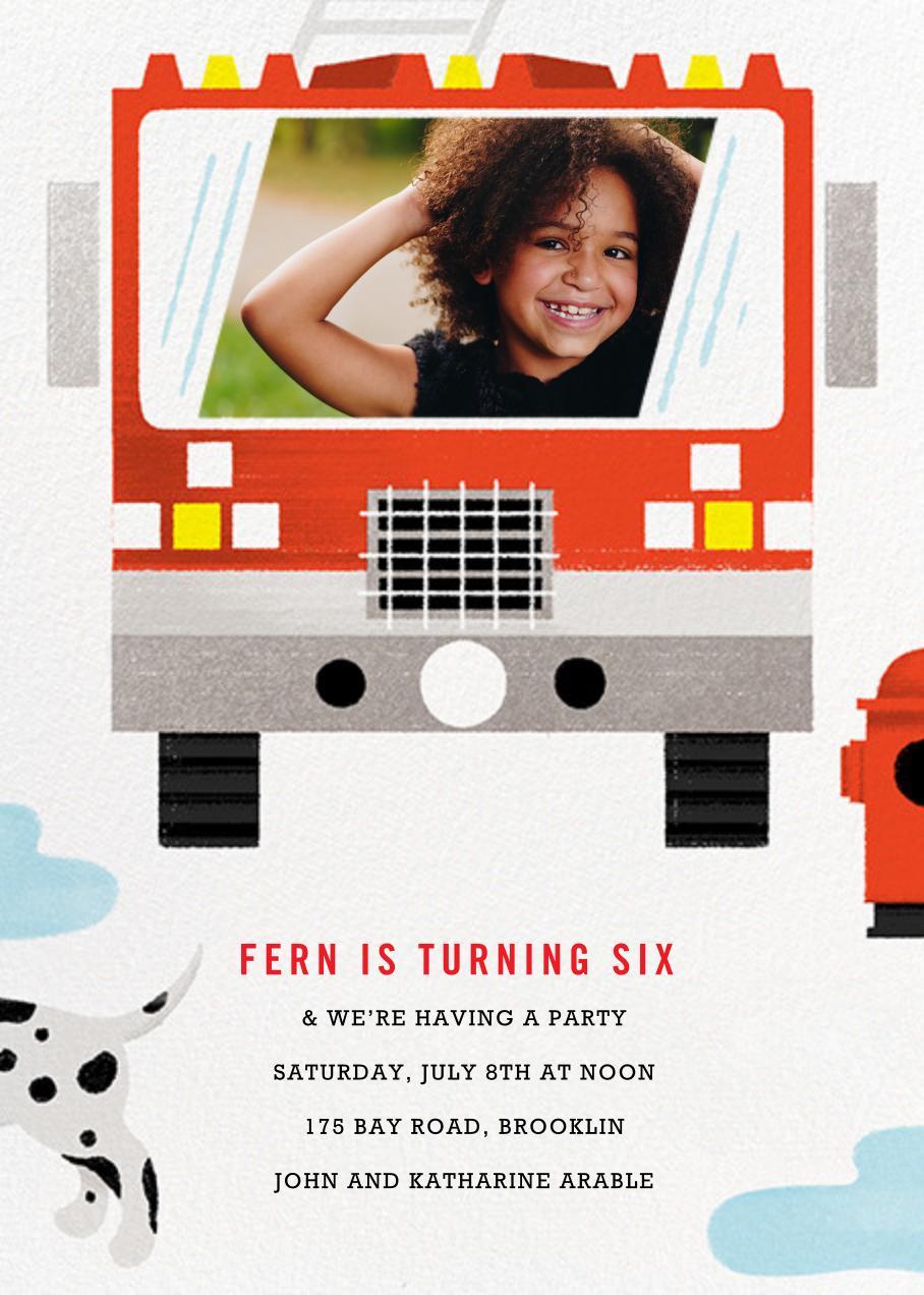 Hot Pursuit - Paperless Post - Kids' birthday