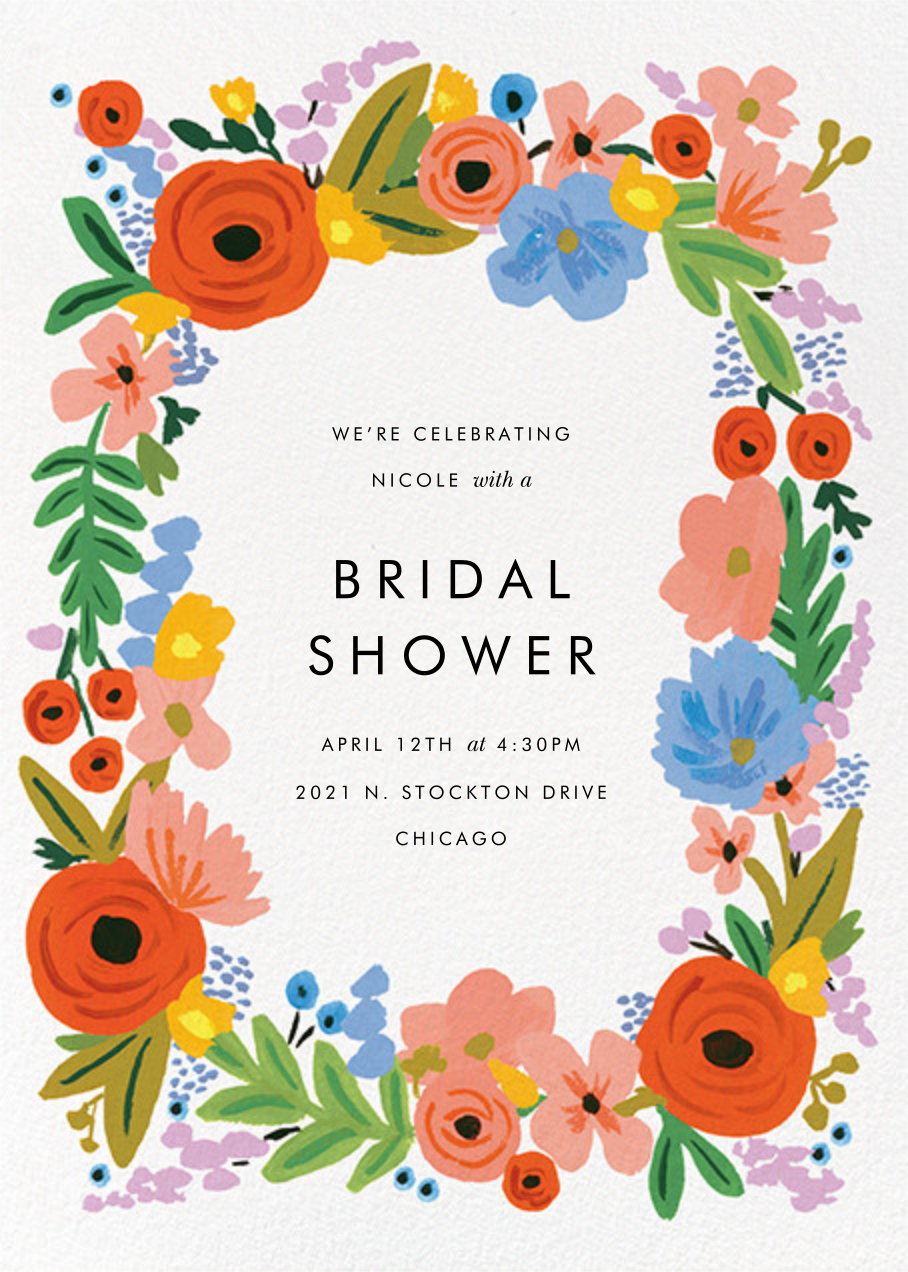 Mayday Bouquet - Rifle Paper Co. - Bridal shower